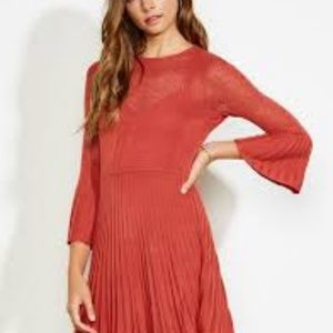 Ali & Jay – Private Concert Sweater Dress RUST